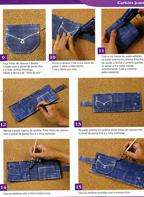 Bolsa De Tecido Jeans Passo A Passo : Jeans o tecido de todas as tendencias customizadas alto