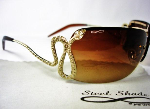 2ebf10855 Brilho e Luxo com Criatividade na Era dos Óculos de Sol. | Alto ...