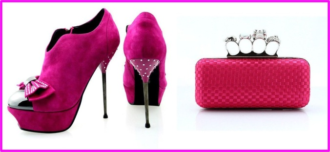 metal-stiletto-heel-boots-pink-bow-high-heels