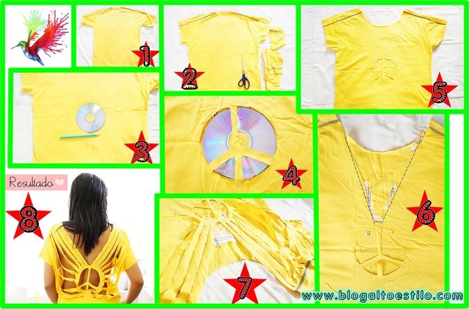 Customização Camiseta
