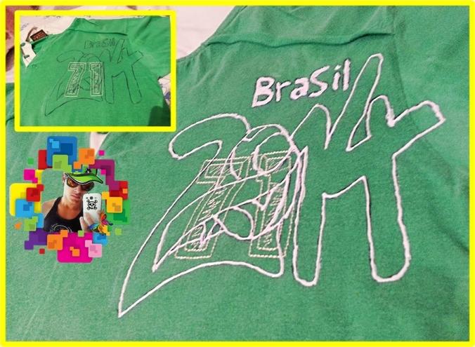 Camiseta Copa do Mundo