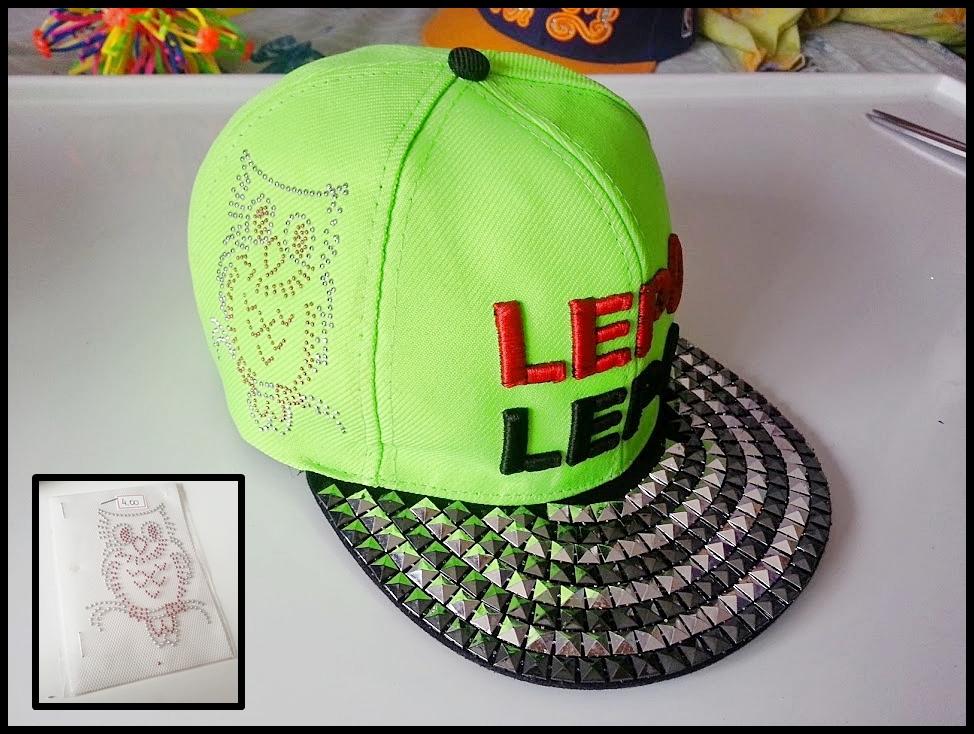 Customização De Boné  Lepo Lepo.  f32a0539a28