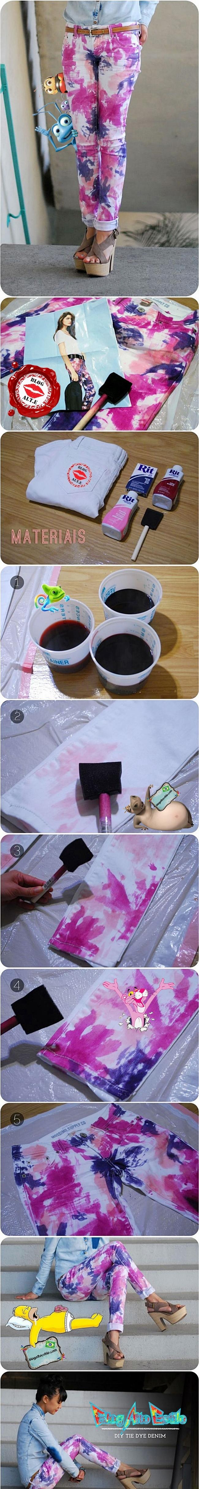 Tecnica Tie Dye