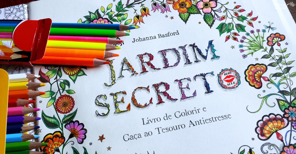 Colorindo: O Mundo encantado de Jardim Secreto.